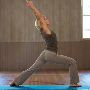 yoga for weight loss-Warrior pose